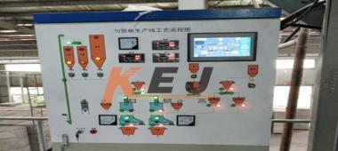 匀制板生产工艺系统